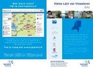 Kleine Lijst van Viswateren - Sportvisserij Nederland