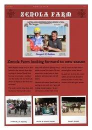 March Newsletter 2010 - Zenola Farm