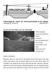nummer 9 - Oud-Katholieke Parochie IJmuiden