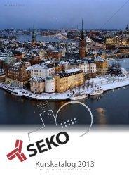 Kurskatalog 2013 - Seko
