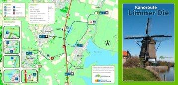 kanoroute Limmer Die - Alkmaarder- en Uitgeestermeer