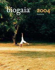 BioGaia AB årsredovisning 2004