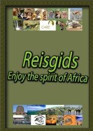Reisgids - Studiereis Zuid-Afrika