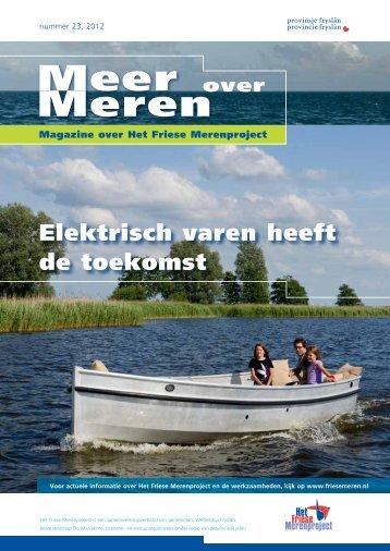 Meer over Meren nummer 23, voorjaar 2012 - Friese Meren