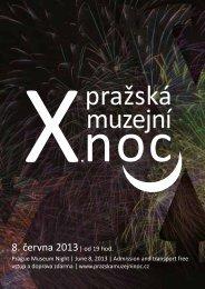 8. června 2013| od 19 hod. - Pražská muzejní noc
