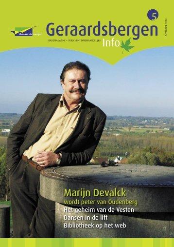 Geraardsbergen Info 5 - december 2006 - Stad Geraardsbergen