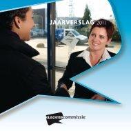Jaarverslag Klachtencommissie 2011 - SOBO