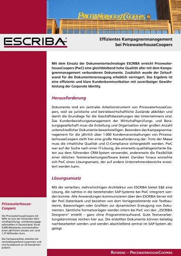 10 free Magazines from ESCRIBA.SOFTWARE.DE