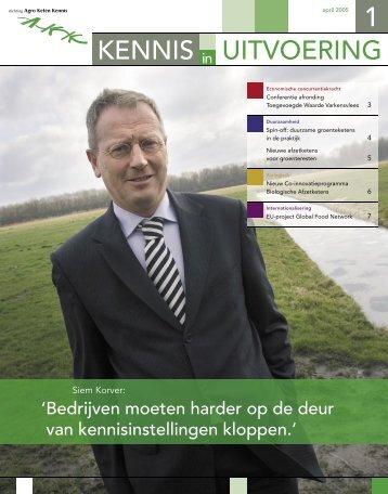 UITVOERING KENNIS - Stichting Agro Keten Kennis