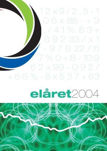 elåret2004 - Svensk Energi