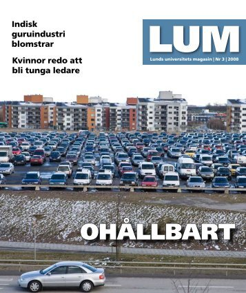 oHÅLLBArt - Humanekologi Lunds universitet
