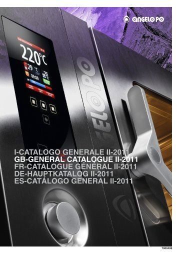 I-CATALOGO GENERALE II-2011 GB-GENERAL CATALOGUE II ...