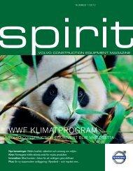 WWF KLIMATPROGRAM - Volvo Spirit Magazine