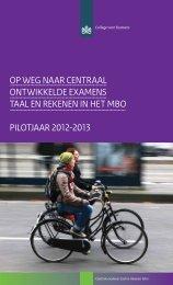 Brochure invoering COE in mbo - 2012-2013 - College voor examens