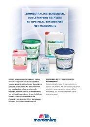 Producten brochure - Mardenkro
