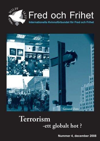 Fred och Frihet nr 4, 2008 - IKFF