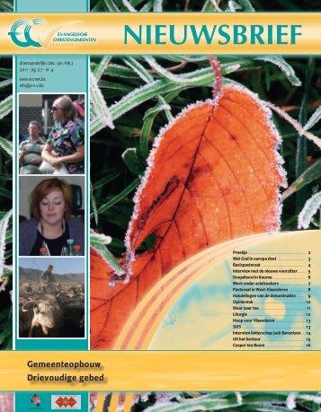 ECV Nieuwsbrief 2011 nr.4 (7226.8kB)