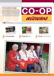 CO-OP nieuws december 2011 - Co-op Pensioenfonds