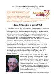 Nieuwsbrief SHM nr. 2 - Protestantse Gemeente Amersfoort