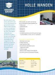 Folder Holle Wanden - Havebo Groep
