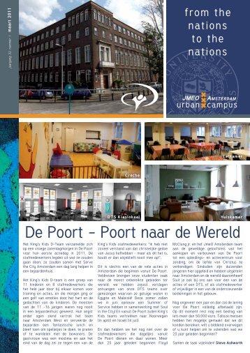 De Poort – Poort naar de Wereld - YWAM Amsterdam
