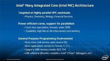 MKL on Intel® Xeon Phi