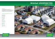 Instant / Broschyr Väderskydd - OB Wiik