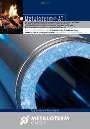 Metaloterm® AT - MMF Flues and Chimneys