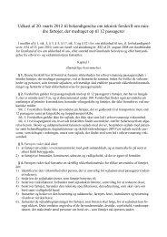 Udkast af 20. marts 2012 til bekendtgørelse om teknisk forskrift ... - Net