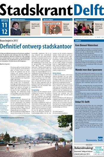 week 11 en 12 - Delft.nl