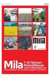 14 reportage och texter till MILAs mässbilaga. - Hans Jonsson
