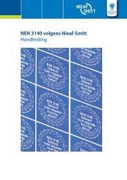 NEN 3140 volgens Nieaf-Smitt Handleiding - Mors Smitt