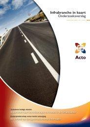 Infrabranche in kaart Onderzoeksverslag - Acto Informatisering