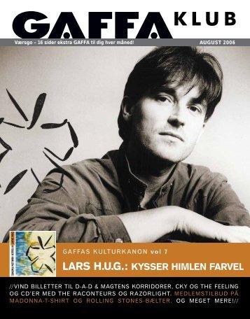 LARS H.U.G.: KYSSER HIMLEN FARVEL - Gaffa