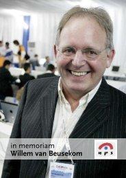 in memoriam Willem van Beusekom