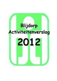 Blijdorp Activiteitenverslag