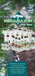 MEGAMAZON® pomáhá chránit amazonský prales a jeho ...