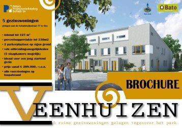 Download de brochure - Peters Projectontwikkeling Schaijk