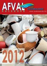 Kalender huisvuilophaling 2012 - Nieuws in Oudenaarde