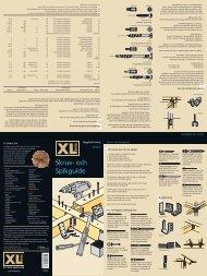 Skruv och Spikguide - XL Bygg