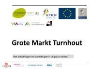 Grote Markt Turnhout - Kenniscentrum Vlaamse Steden