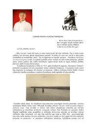 Latviešu karavīru kultūras mantojums - Vilki