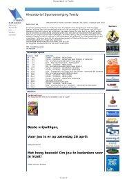 Nieuwsbrief 2013.04 nr 5 - SV Twello