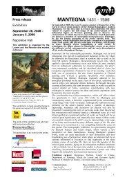 Press release Mantegna > pdf - Musée du Louvre