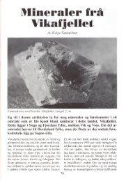 Mineraler frå Vikafjellet pdf - NAGS