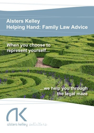 Helping Hand - Alsters Kelley Solicitors
