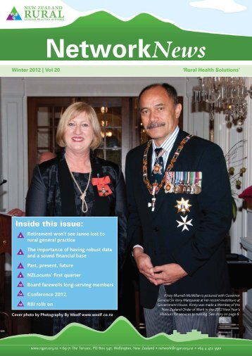 Inside this issue - New Zealand Rural General Practice Network