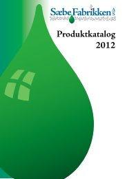 Produktkatalog 2012 - Saebefabrikken