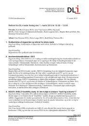 Referat fra DLI-møde fredag den 1. marts 2013 kl.10.00 – 12.00