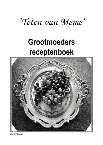 'Teten van Meme' - Vormingplus Midden en Zuid West-Vlaanderen